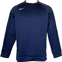 Nike Men's Dri-Fit Crew Neck Sweatshirt Performance Long-Sleeve Sweatshirts