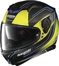 Nolan N87 Savior Faire Helmet Fade Yellow (Yellow, Large)