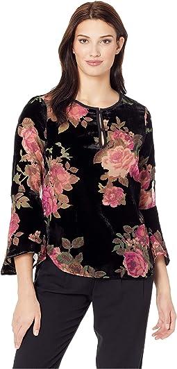 13ca51676ade8 Karen kane floral 3 4 sleeve top
