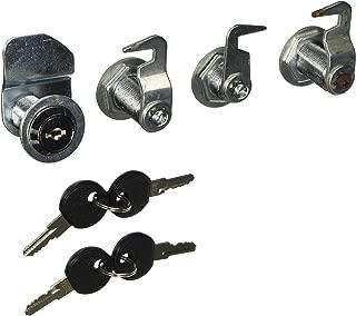 Sunex 8013LS Service Cart Lock Set, 4-Piece
