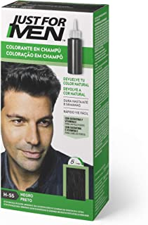 Just For Men Just For Men Tinte Colorante En Champu Para El Cabello Del Hombre. Negro 120 G