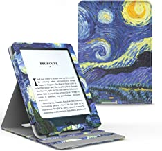 MoKo Case for Kindle Paperwhite, Premium Vertical Flip Cover with Auto Wake/Sleep Fits All Paperwhite Generations Prior to 2018 (Will not fit All-New Paperwhite 10th Generation), Starry Night