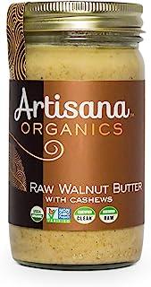 Artisana Organics Raw Walnut Butter with Cashews (1 Pack (14 oz))