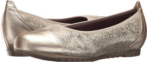 Platinum Shimmer/Platinum Leather