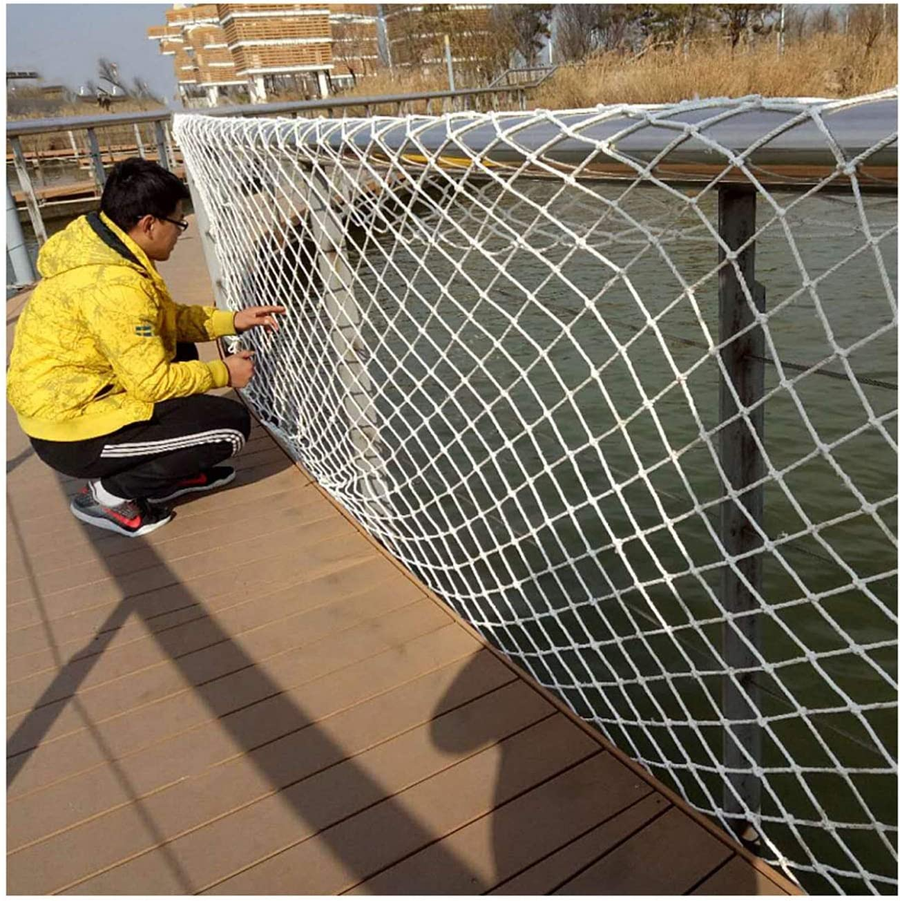 LJIANW Fishing Net Decor Child Guards for Banister S sale Ranking TOP10 Safety