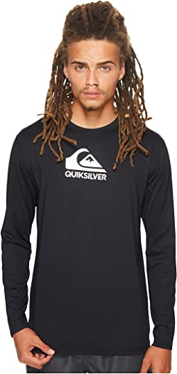 Solid Streak Long Sleeve Rashguard
