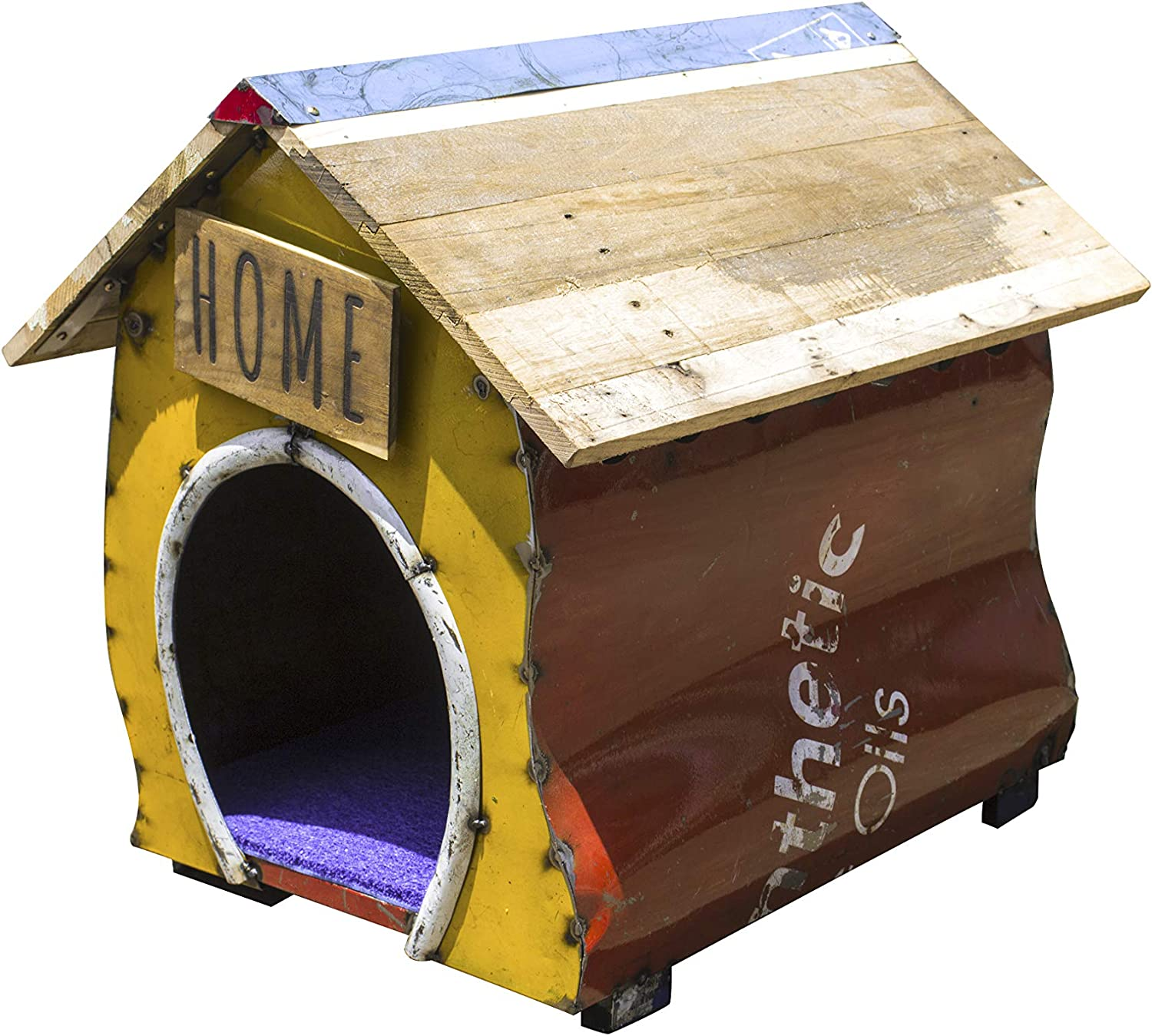 Upcycled Emporium Dog Kennel and Handcrafted Home Latest item Pet Unique fr Limited time sale