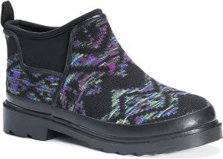حذاء مطر حريمي من Muk Luks حذاء مطر من Libby Rainboots ، Oxford، مقاس 7 متوسط أمريكي