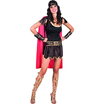 BOLAND BV Disfraz gladiadora Romana Mujer - Única: Amazon.es ...