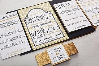Best art deco wedding invitations Reviews