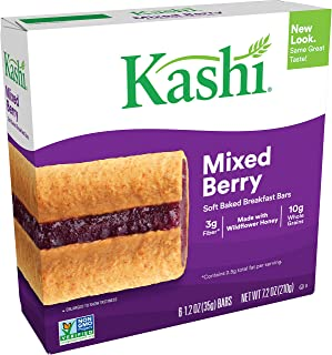 Kashi Soft Baked Breakfast Bars - Mixed Berry, Box of 6