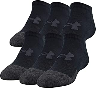 Under Armour Youth Performance Tech No Show Socks (6 Pairs), Shoe Size: Youth 13.5K-4Y