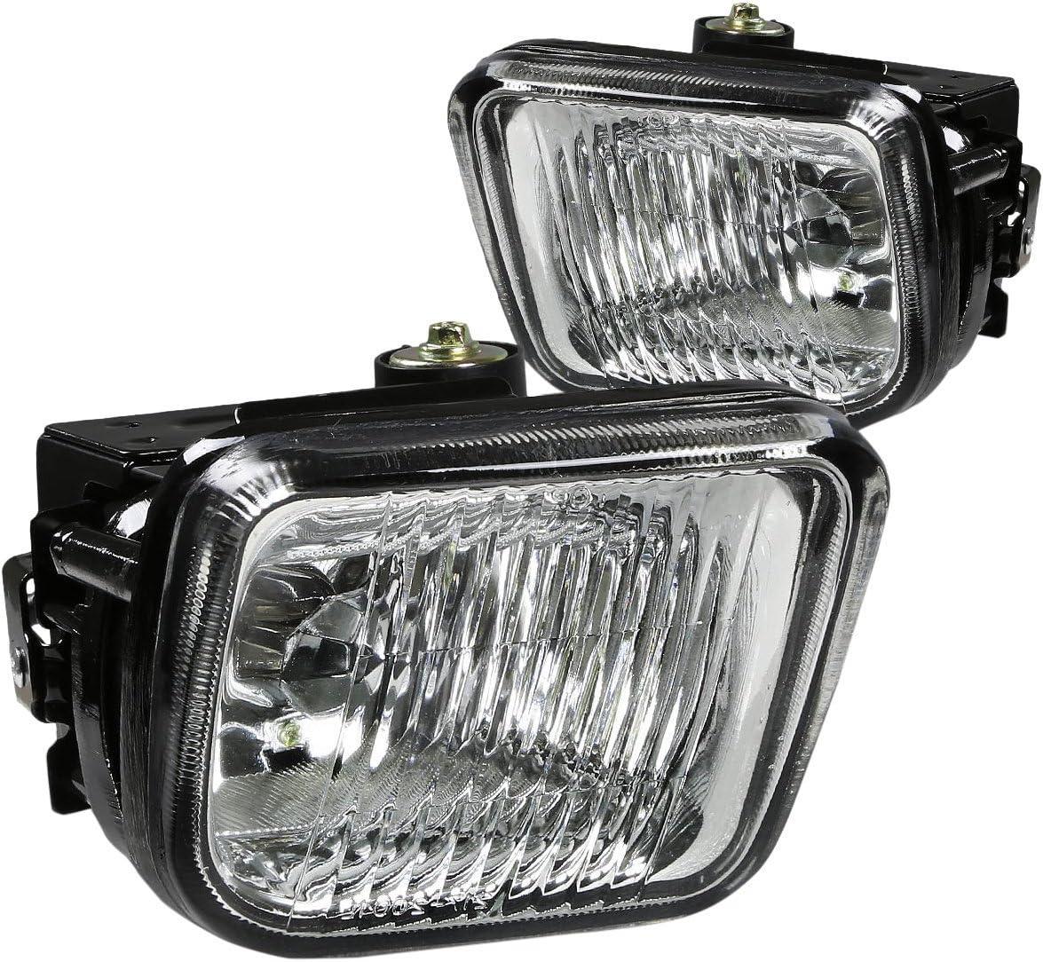 Over item handling ☆ DNA Motoring FL-HC96-CH Fog Light Honda Civic El Paso Mall 96-98 Chrome For