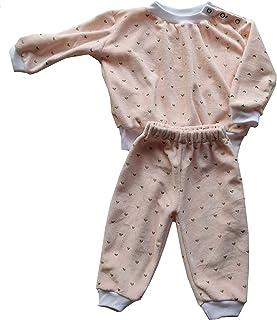 Pijama bebé Invierno Dos Piezas, Plush, Felpa, Peluche. Camiseta y Pantalones Largos Divertido Ropa de Casa Dormir Suave y Cómodo. Pack 2 Pijamas