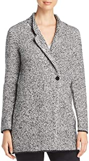 Eileen Fisher Womens Textured Long Sleeves Jacket
