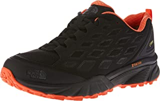 THE NORTH FACE Women's EndurUS Hike GTX, Wo Shoes, Tnfblk/Nasturorg