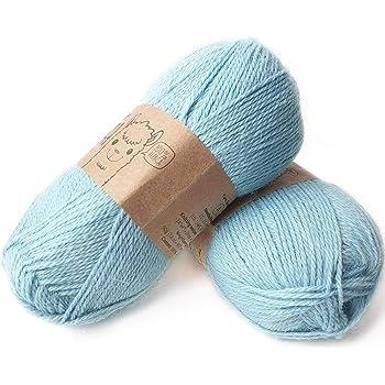 Alpaca (caídas para tejer y Crochet hilo – 4ply peso): Amazon.es: Hogar