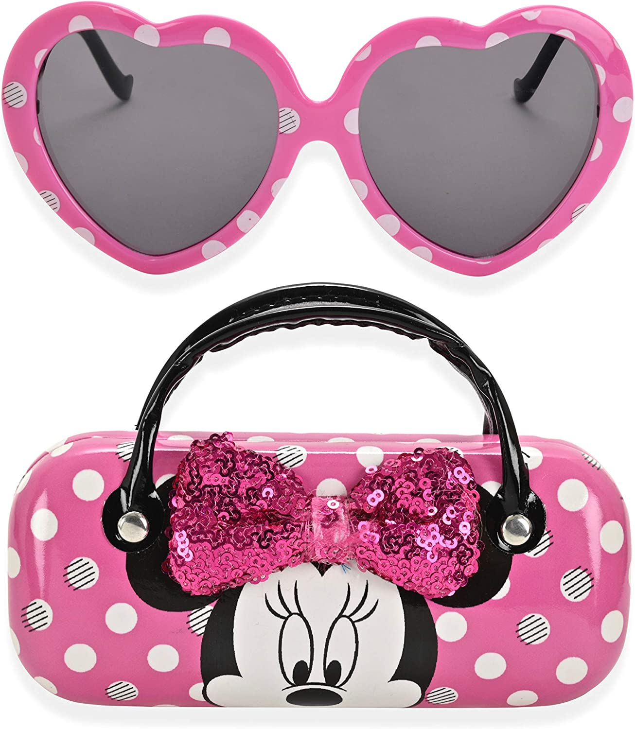 Minnie Mouse Kids Sunglasses for Girls, Toddler Sunglasses with Kids...