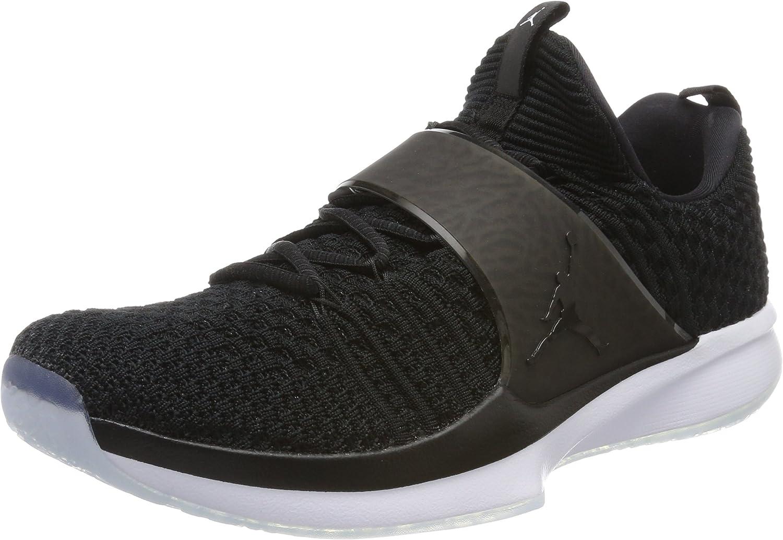 Nike Jordan Mann's Jordan Trainer 2 2 2 Flysticka svart  svart  vit Training skor 8.5 Män USA  skyndade sig att se