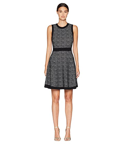 Kate Spade New York Out West Mod Plaid Sweater Dress