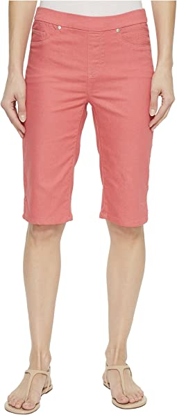 "Pull-On 13"" Dream Jean Bermuda in Rose Glow"