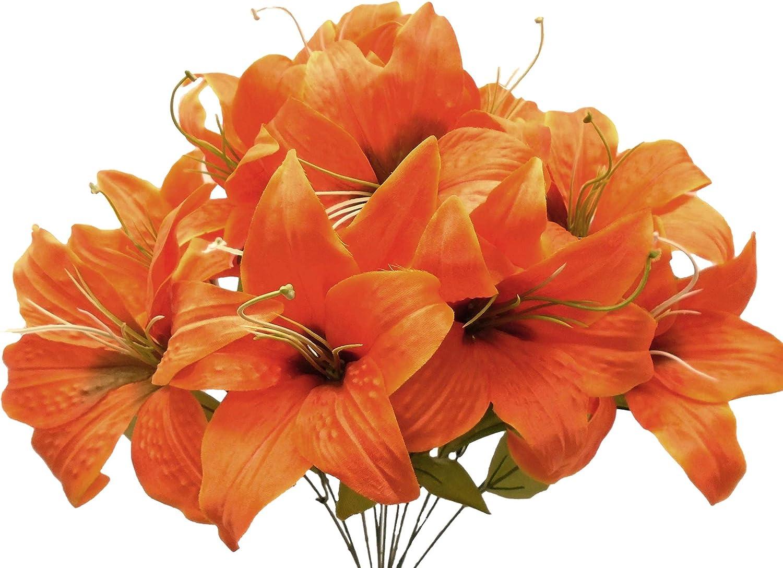 Phoenix Silk Tiger low-pricing Lily Year-end gift Bush Satin Bou 11 19