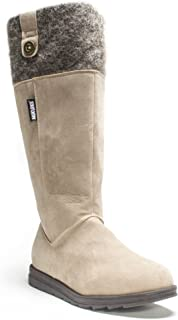 حذاء Allicia طويل الأكمام للنساء من Muk Luks، بني، 7 M US