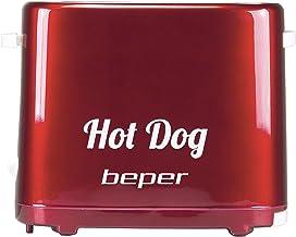 BEPER machine, Hot Dog, 750 W, kunststof, rood