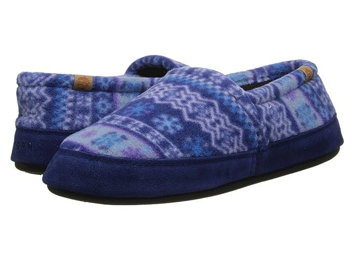 Acorn   Moc (Icelandic Blue) Womens Moccasin Shoes