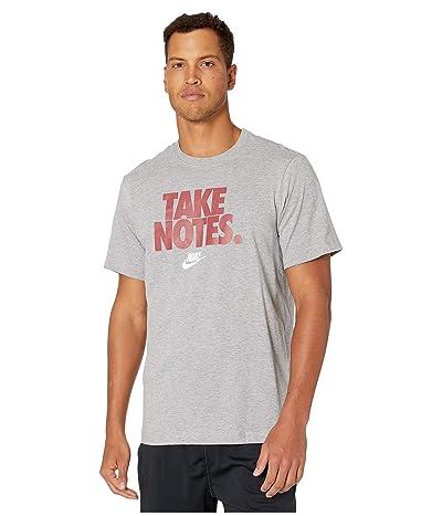 Nike NSW Short Sleeve Tee Back to School 2 (Dark Grey Heather) Men
