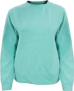 Comfort Colors Womens/Ladies Crew Neck Sweatshirt (S) (Seafoam)