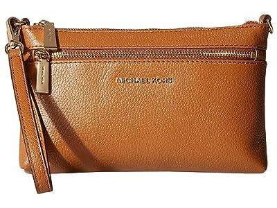 MICHAEL Michael Kors Jet Set Large Wristlet (Acorn) Wristlet Handbags