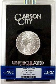 1884 CC Morgan Silver Dollar Carson City $1 MS-63 NGC