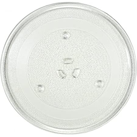 Replacement for Samsung MR6699GB Microwave Glass Plate 14 1//8 Compatible with Samsung DE74-20002 Microwave Glass Turntable Tray 359 mm