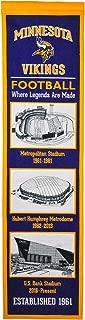 Winning Streak NFL Minnesota Vikings Stadium Evolution Banner