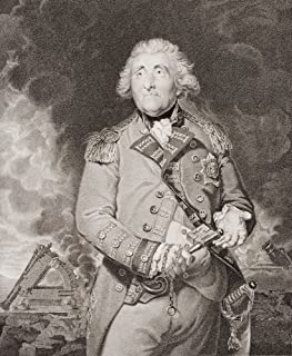 George Augustus Elliott Lord Heathfield 1St Baron Heathfield Governor Of Gibraltar 1717-1790 With The Keys Of Gibraltar From The Painting By Sir Joshua Reynolds Poster Print (13 x 16)