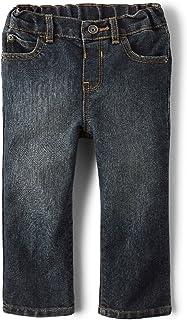 Toddler Boys Basic Straight Leg Jeans