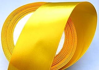 CaPiSo/® Nastro di Raso 4 cm Nastro Decorativo Natale Nastro Nastro Regalo Nastro Decorativo Arancione Fluo