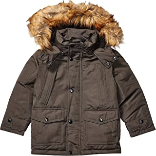 Ben Sherman Boys Puffer Jacket Down Alternative Coat - Beige