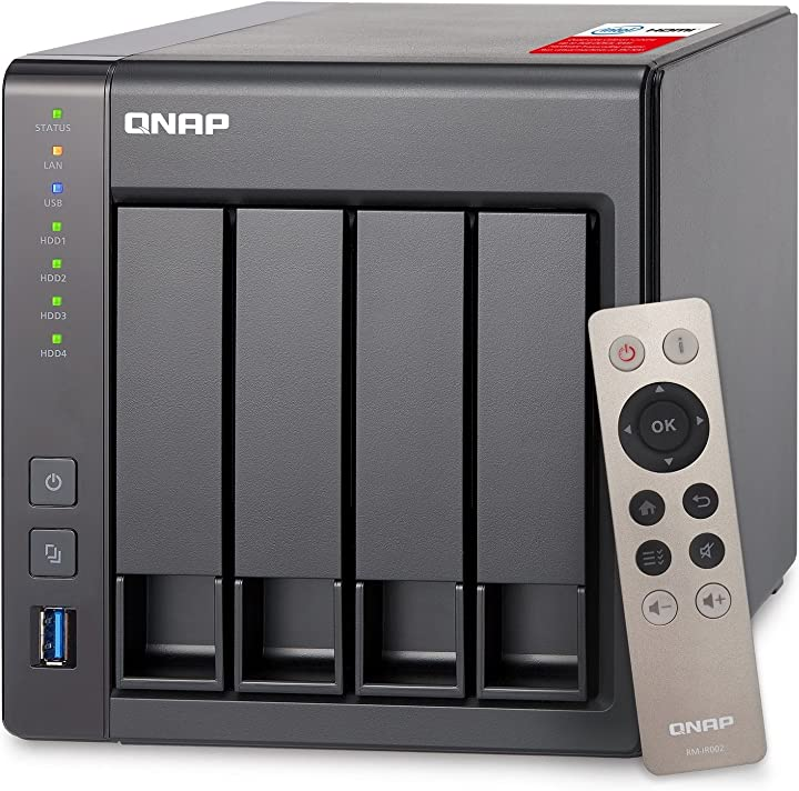 Qnap turbo nas ts-451+-2g unita di stoccaggio di rete