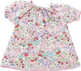Götz 3402442 Mille Fleur Nachthemd für Babypuppen - Puppenkleidung Gr. S passend für Puppen von 30 - 33 cm