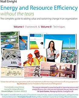Energy and Resource Efficiency without the tears: The complete guide to to adding value and sustaining change in an organization.
