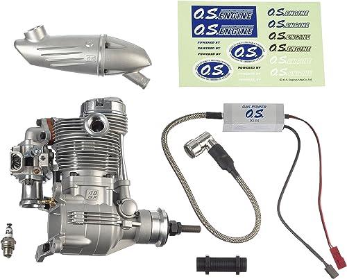 venta con descuento grispner 1.420 - Motor para el Modelo OS GT 40, 40, 40, silenciador F-6040  varios tamaños