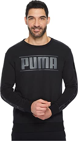 PUMA - Rebel Tape Crew Fleece