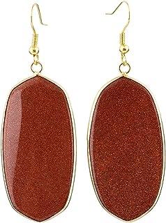 SUNYIK Women's Stone Crystal Dangle Drop Earrings...