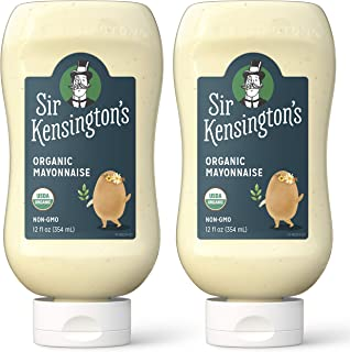 Sir Kensington's Mayonnaise Organic 12 Fl Oz (Pack of 2)