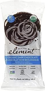 Element Snacks Organic Rice Cake Dark Chocolate, 3.5 oz