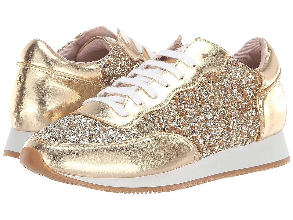 Kate Spade New York Felicia Sneaker (Gold Glitter) Women
