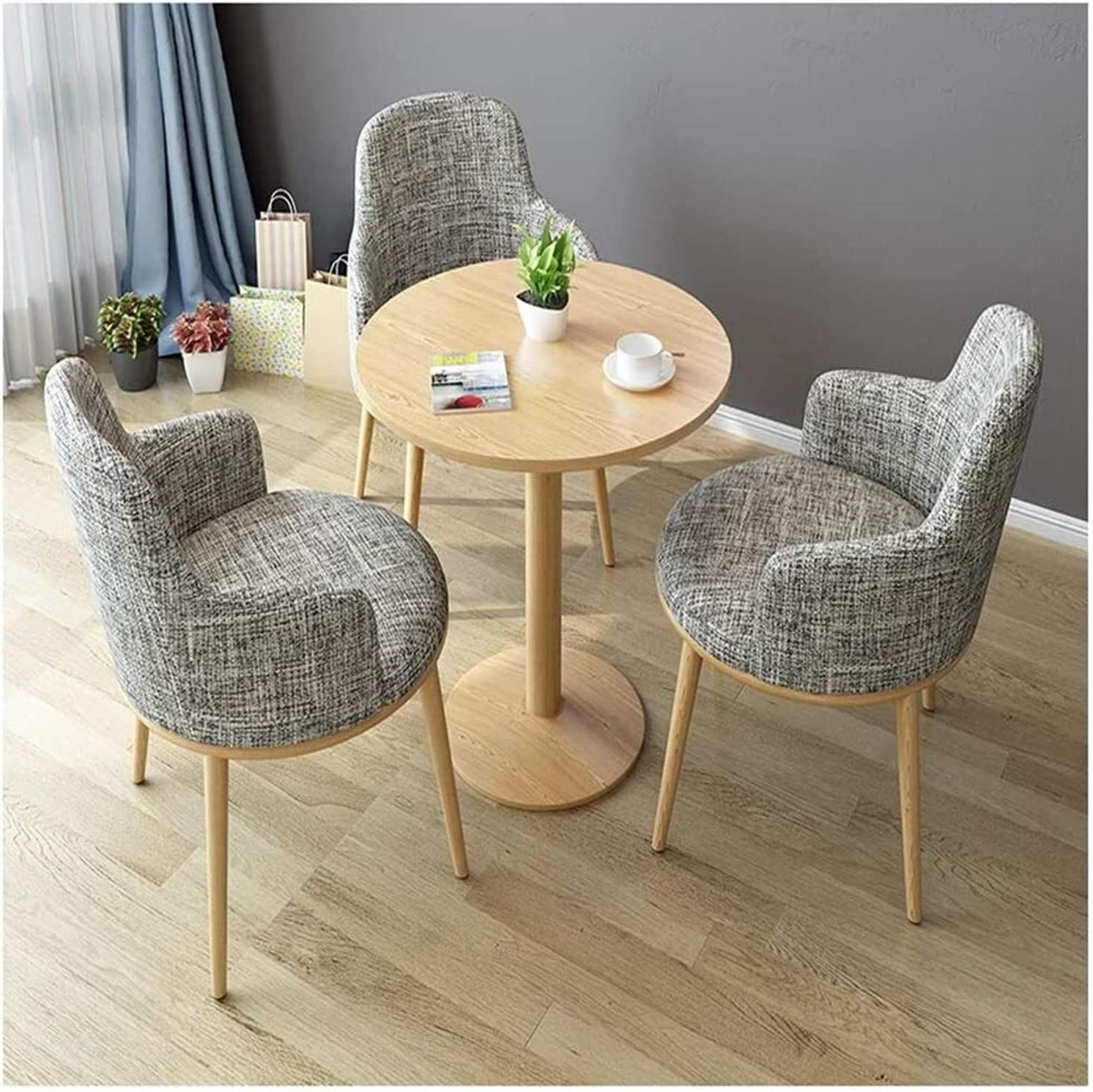 WANGLX Dining Table Set for and Max 45% OFF Hotel Recep Room Kitchen New Orleans Mall