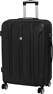 it luggage Proteus 28 Inch Hardside Checked Spinner Luggage (Black)